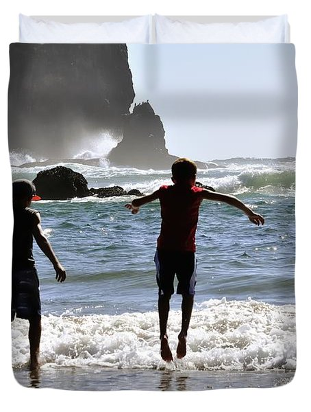 Wave Jumping 25614 Duvet Cover