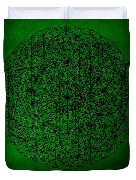 Wave Particle Duality II Duvet Cover by Jason Padgett
