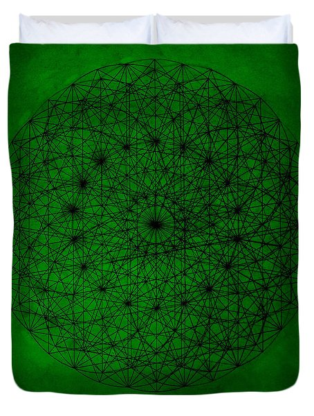 Wave Particle Duality Duvet Cover by Jason Padgett