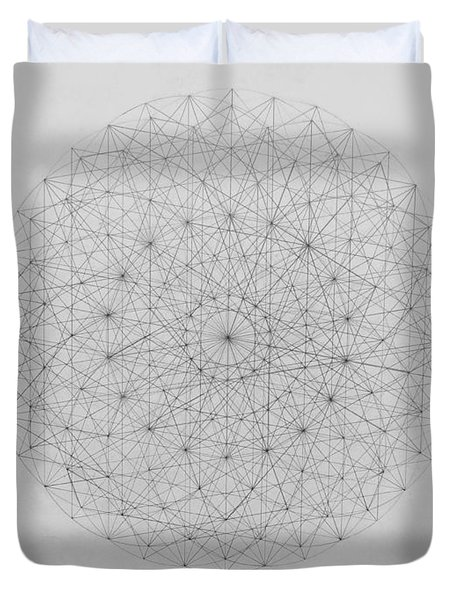 Wave Particle Duality Original Duvet Cover by Jason Padgett