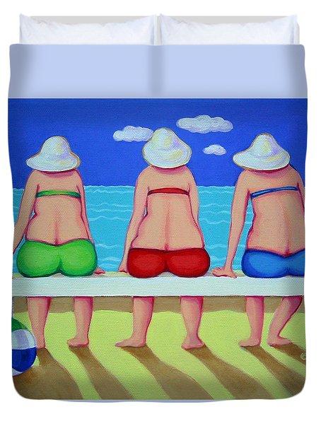 Wave Watch - Beach Duvet Cover