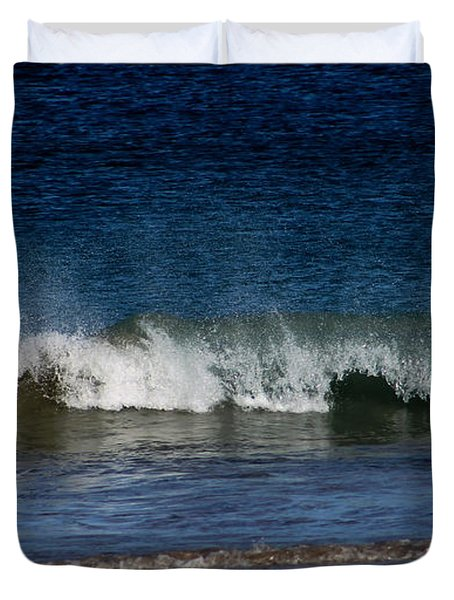 Waves And Surf Duvet Cover