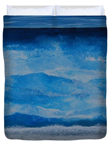 Waves Duvet Cover by Linda Bailey