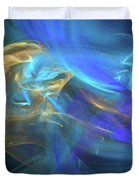 Waves Of Grace Duvet Cover