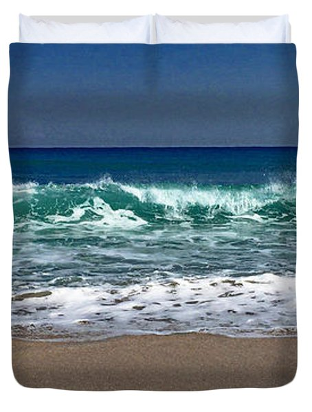 Waves Of Happiness  Duvet Cover