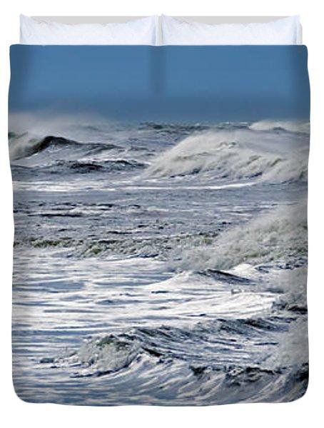 Waves Off Sandfiddler Rd Corolla Nc Duvet Cover