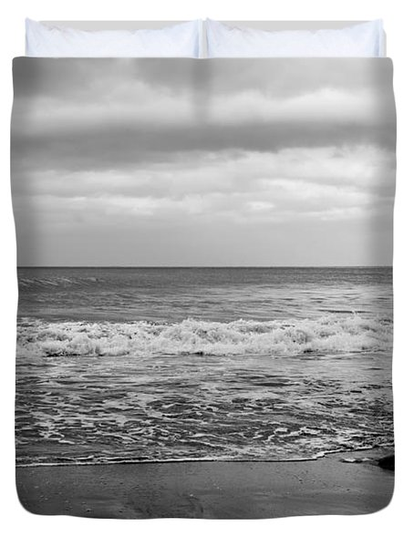 Waves Rolling In  Duvet Cover