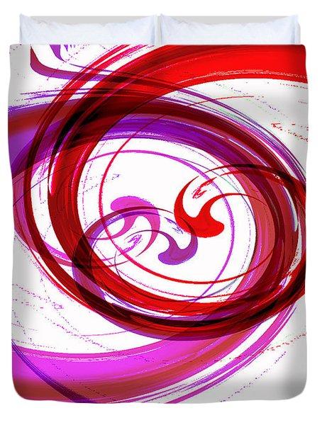 Circling Grace 3 Duvet Cover