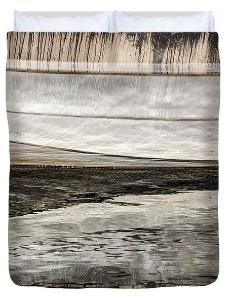 Wavy Reflections Duvet Cover