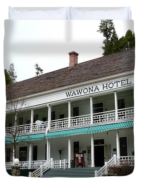 Wawona Hotel In Yosemite  Duvet Cover