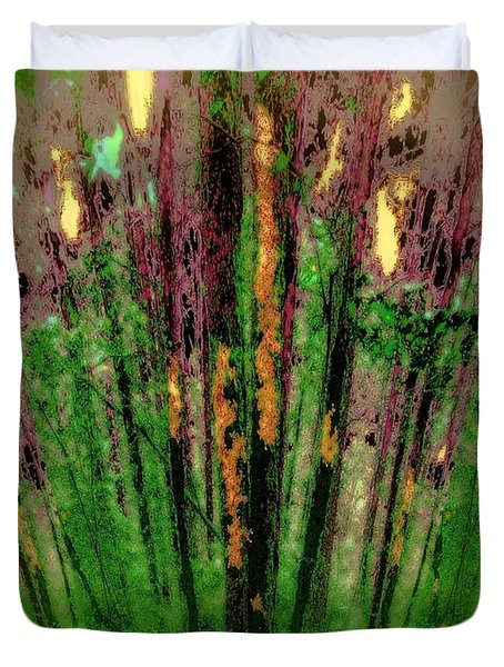 Wax Forest Cathedral Duvet Cover