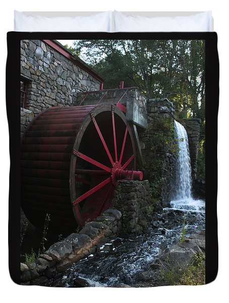 Wayside Inn II Duvet Cover by Suzanne Gaff