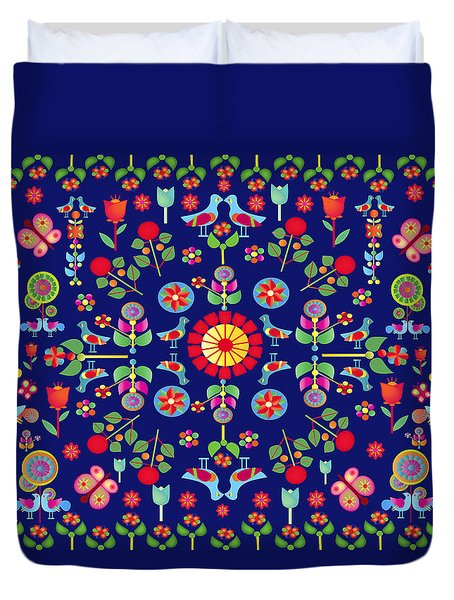 Wayuu Tapestry Duvet Cover by Gabriela Delgado