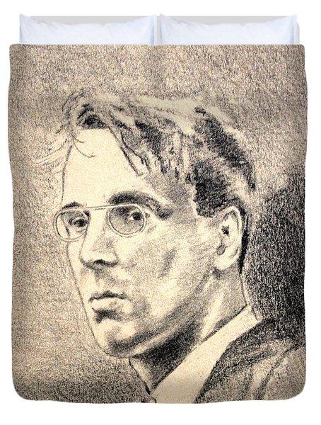 W.b. Yeats Duvet Cover by John  Nolan