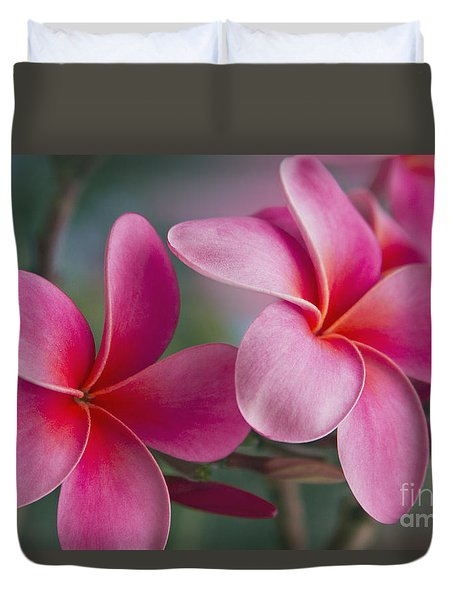 Duvet Cover featuring the photograph We Were Together . . .  by Sharon Mau