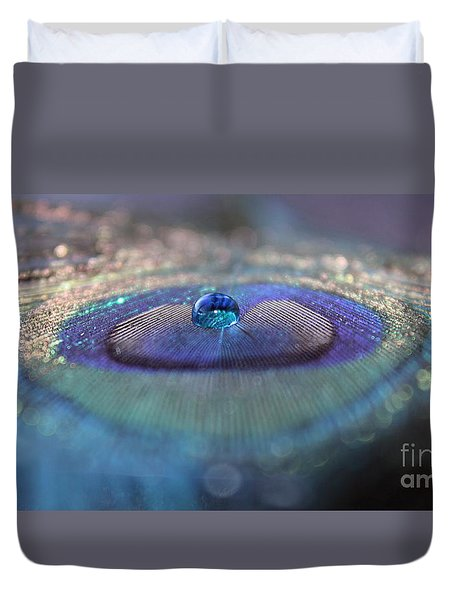 We Won't Say Goodbye Duvet Cover by Krissy Katsimbras