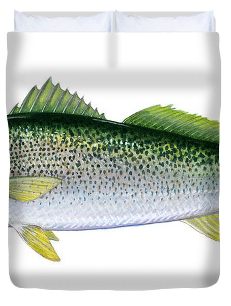 Weakfish Duvet Cover