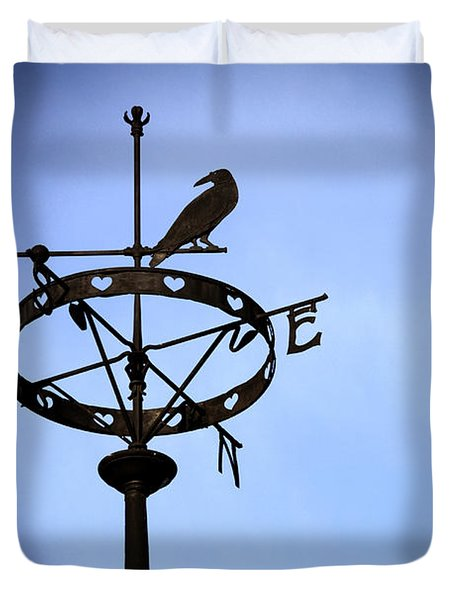 Weather Vane Duvet Cover by Craig B