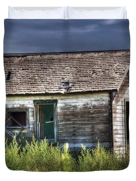 Weathered And Worn Well  Duvet Cover by Saija  Lehtonen