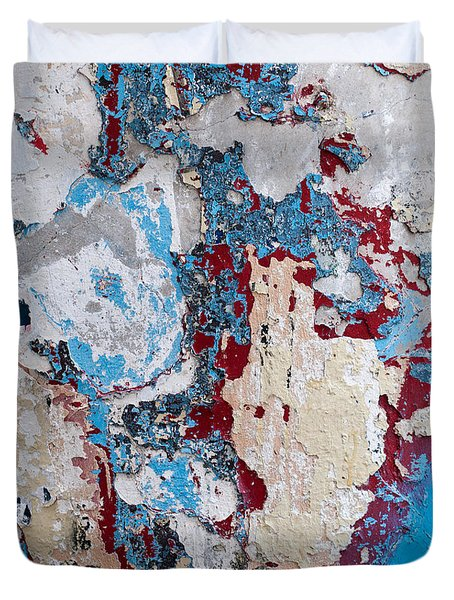 Weathered Wall 02 Duvet Cover