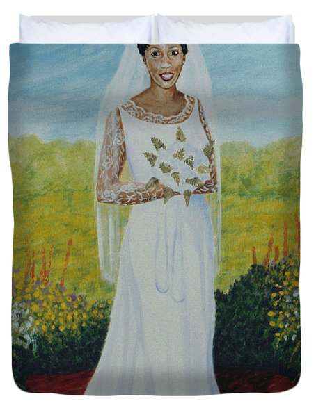 Wedding Day Duvet Cover by Stacy C Bottoms