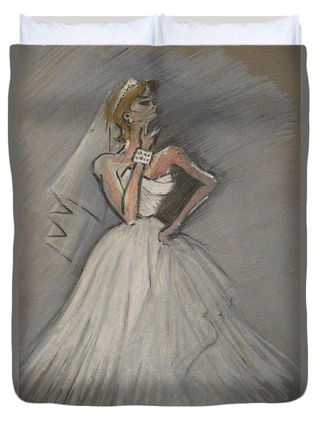 Wedding Dress Duvet Cover