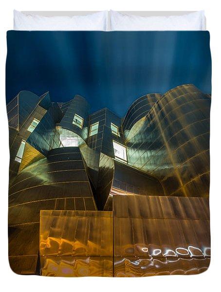 Weisman Art Museum Duvet Cover by Mark Goodman