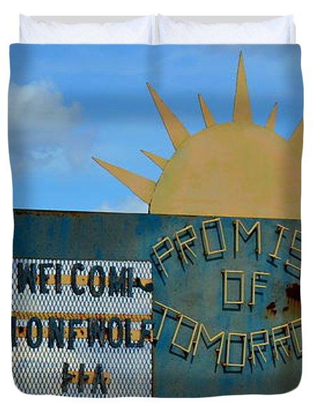 Hometown Welcome Duvet Cover