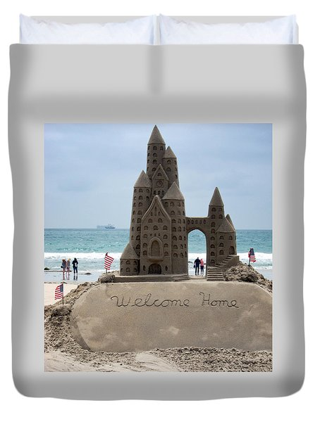 Welcome Home Duvet Cover