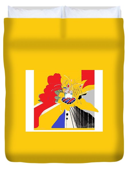 Welcome To New Orleans 2 Duvet Cover