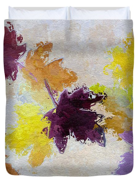 Welcoming Autumn Duvet Cover by Heidi Smith