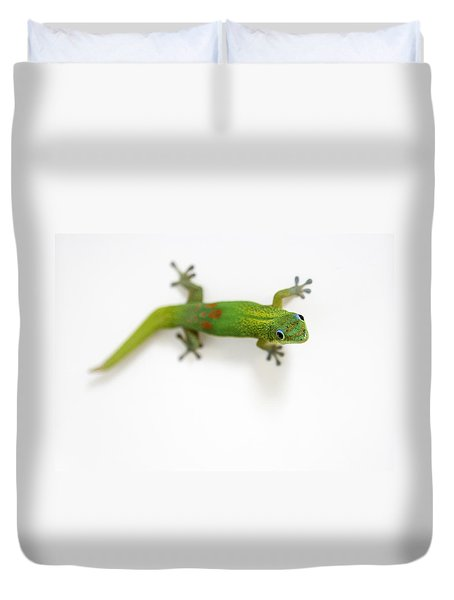Well Hello There Duvet Cover by Denise Bird