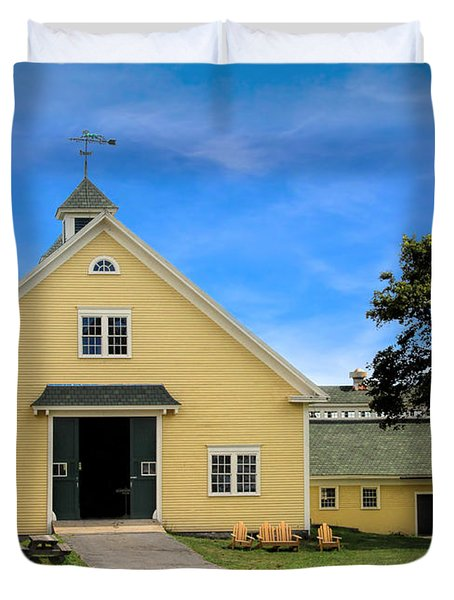 Wells Reserve Barn Duvet Cover