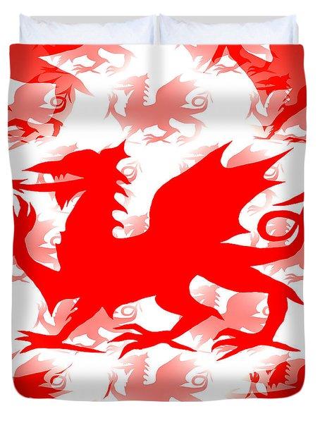 Welsh Dragon Duvet Cover