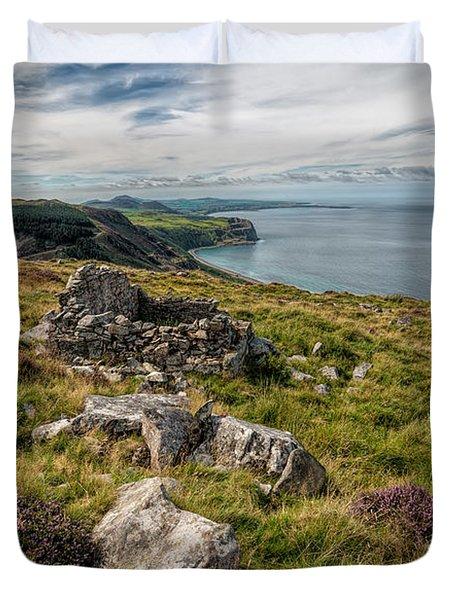 Welsh Peninsula Duvet Cover by Adrian Evans