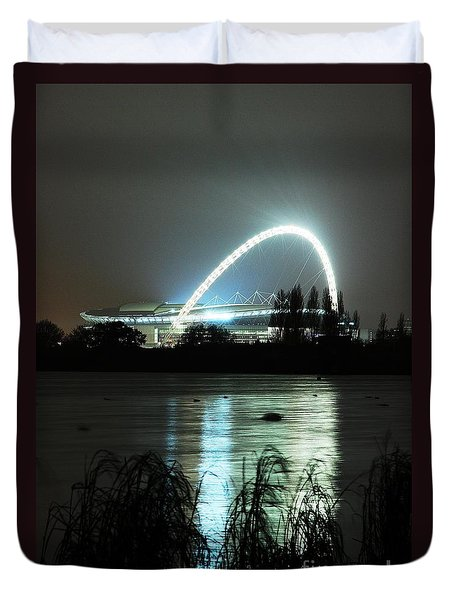 Wembley London Duvet Cover