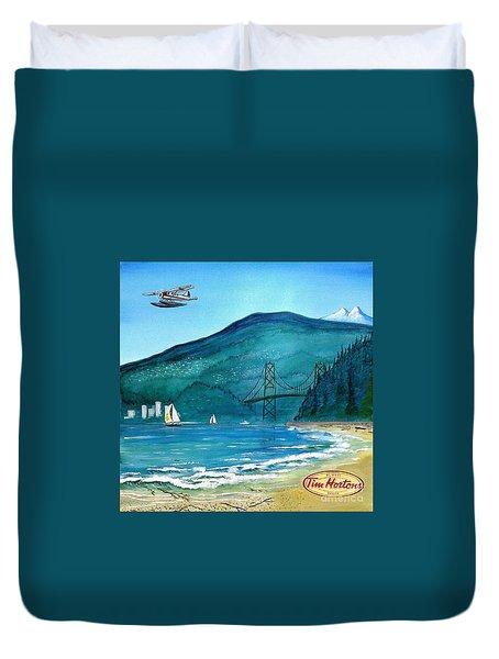 West Coast Dream Duvet Cover by John Lyes