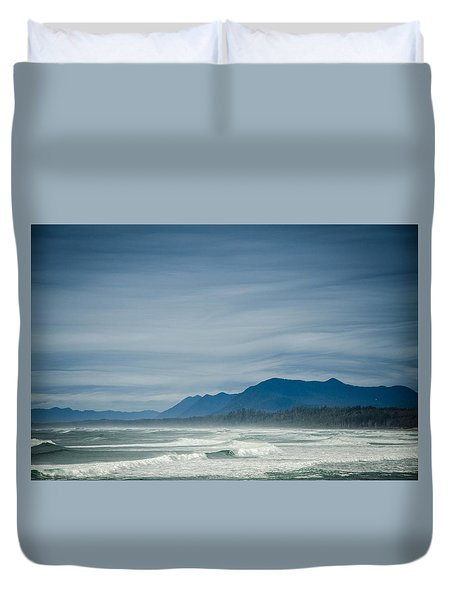 West Coast Exposure  Duvet Cover by Roxy Hurtubise