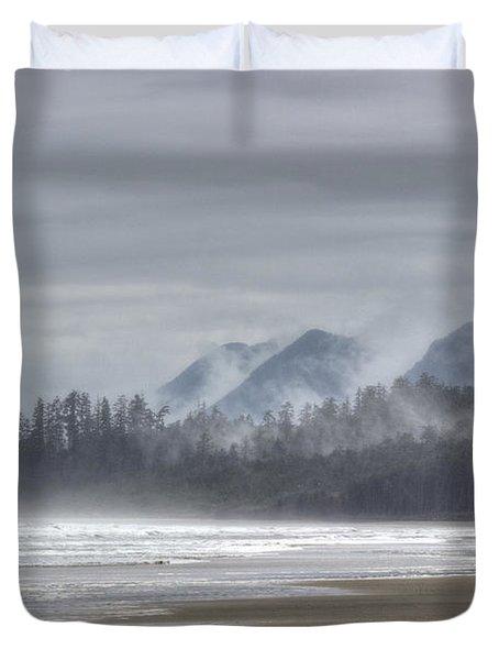 West Coast Mist Duvet Cover