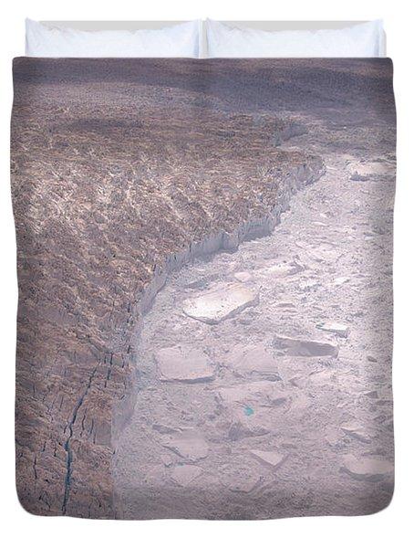 West Greenland, Jakobshavn Glacier Duvet Cover