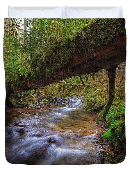 West Humbug Creek Duvet Cover by Everet Regal