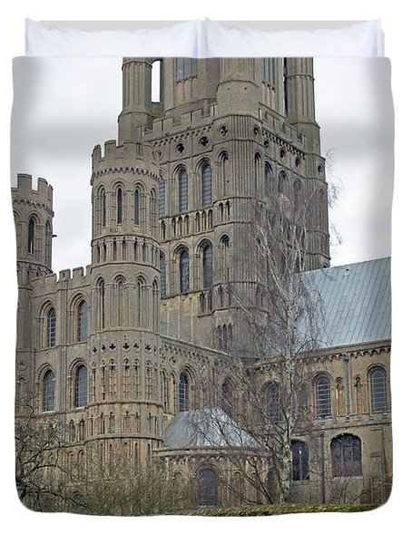 West Tower Of Ely Cathedral  Duvet Cover