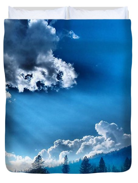 Westerly Clouds Duvet Cover