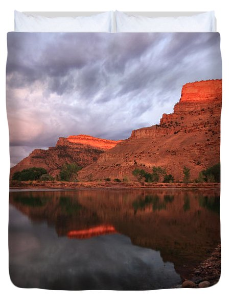 Duvet Cover featuring the photograph Western Colorado by Ronda Kimbrow
