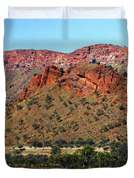 Western Macdonnell Ranges Duvet Cover