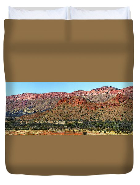 Western Macdonnell Ranges Duvet Cover