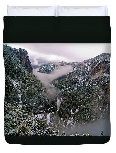 Western Yosemite Valley Duvet Cover