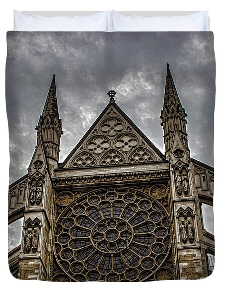 Westminster Abbey Duvet Cover by Martin Newman