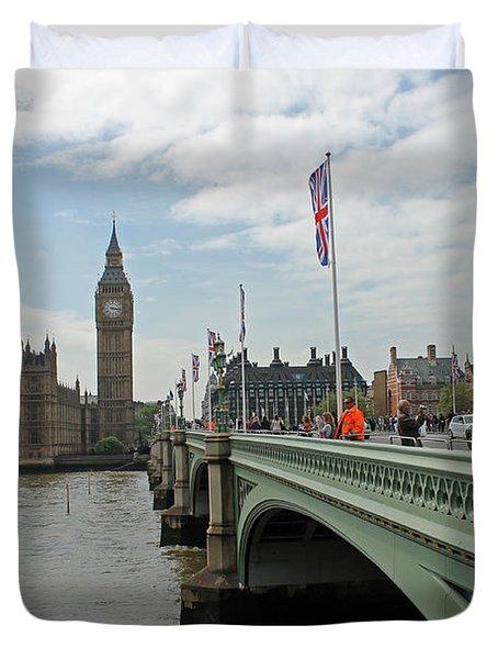 Westminster Bridge Duvet Cover
