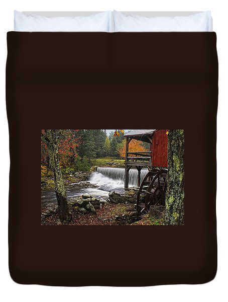Weston Grist Mill Duvet Cover